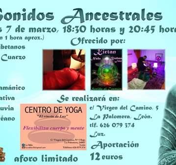 EVENTO: SONIDOS ANCESTRALES