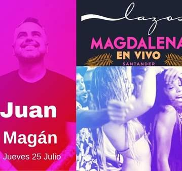 CONCIERTO: SORTEO PARA EL CONCIERTO DE JUAN MAGAN