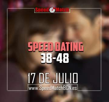 EVENTO: SPEED DATING CON JUEGO SOLTEROS/AS DE 3...