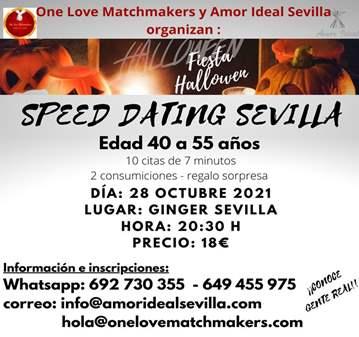 EVENTO: SPEED DATING GINGER SEVILLA