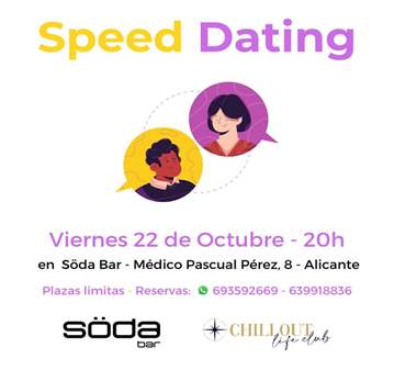 SPEED DATING PRESENCIAL