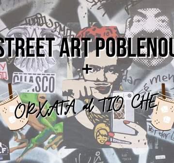 RUTA: STREET ART POBLENOU + ORXATA AL TÍO CHE