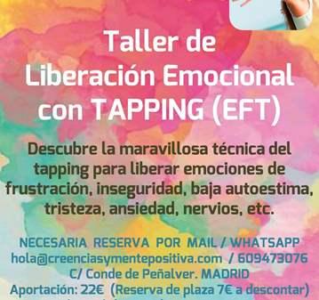 TALLER: LIBERAR TUS EMOCIONES CON TAPPING/EFT M...