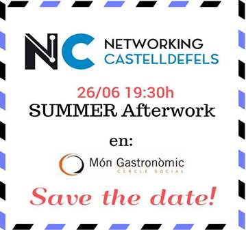 EVENTO: SUMMER AFTERWORK - NETWORKING CASTELLDE...