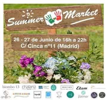 EVENTO: SUMMER MARKET DE MÁS POR ELLOS Y KUBUKA...