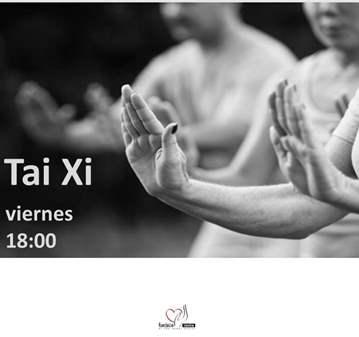 CLASE: TAI CHI   VIERNES   18:00   20€/MES