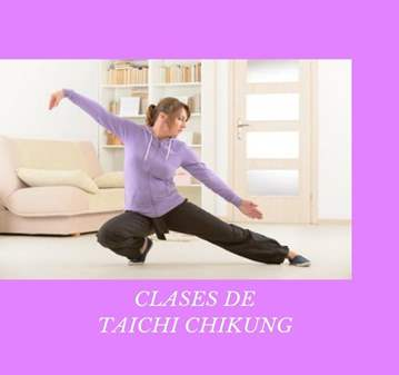 CLASE: TAICHI CHIKUNG CON MEDITACIÓN