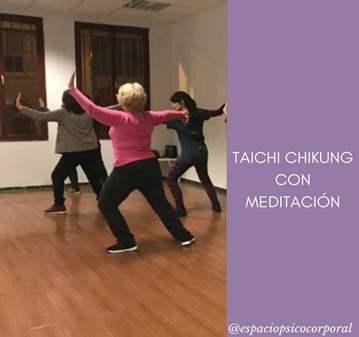 CLASE: TAICHI CHIKUNG CON MEDITACION PRESENCIAL