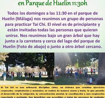 TAICHI - CHIKUNG EN PARQUE DE HUELIN - MÁLAGA