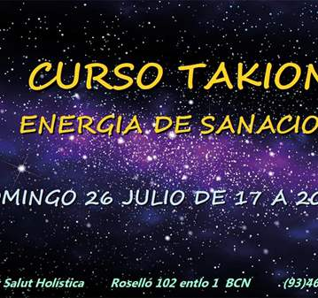CURSO: TAKIÓN ENERGÍA DE SANACIÓN