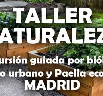 EXCURSIÓN: TALLER AMBIENTAL: RUTA GUIADA HUERTO...