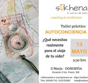 TALLER AUTOCONCIENCIA COACHING-MINDFULNESS