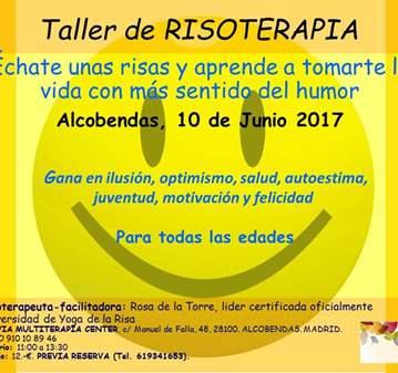 TALLER-CHARLA DE RISOTERAPIA