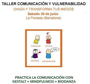 CURSO: TALLER COMUNICACIÓN Y VULNERABILIDAD