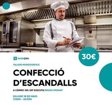 CURSO: TALLER CONFECCIÓ ESCANDALLS