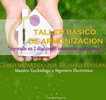 TALLER DE ARMONIZACIÓN BÁSICO 22-23 DE SEPTIEMBRE