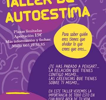 TALLER DE AUTOESTIMA