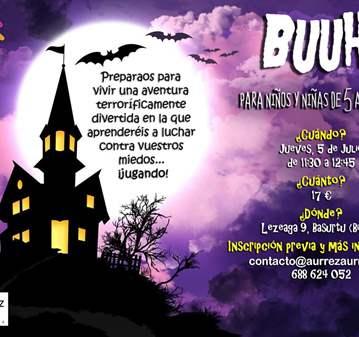EVENTO: TALLER DE BUUH PARA NIÑAS Y NIÑOS DE 5 A 9