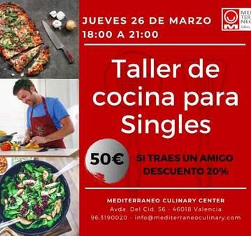 TALLER DE COCINA PARA SINGLES