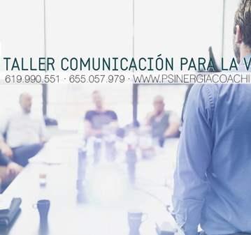 TALLER DE COMUNICACIÓN PARA LA VENTA