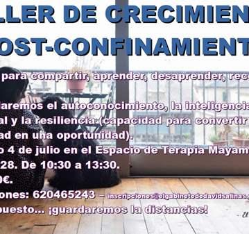 TALLER DE CRECIMIENTO POST-CONFINAMIENTO
