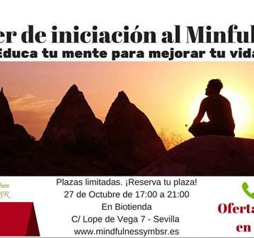TALLER DE INICIACIÓN AL MINDFULNESS
