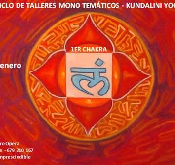 TALLER DE KUNDALINI YOGA - PRIMER CHAKRA