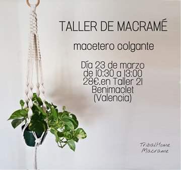 TALLER DE MACRAMÉ
