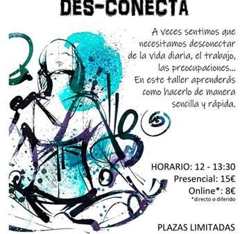 TALLER DE MEDITACIÓN DES-CONECTA