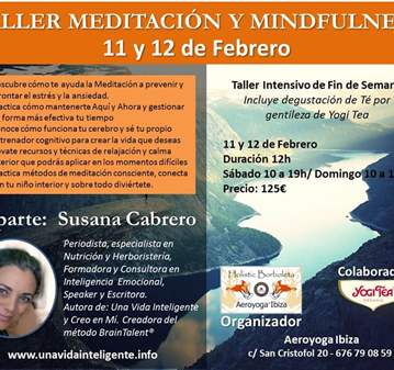 TALLER DE MEDITACIÓN Y MINDFULNESS