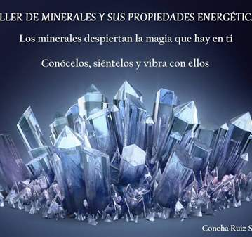 TALLER DE MINERALES Y SUS PROPIEDADES ENERGÉTICAS