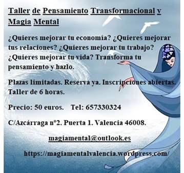 CURSO: TALLER DE PENSAMIENTO TRANSFORMACIONAL