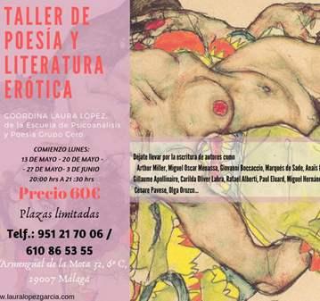 TALLER DE POESÍA Y LITERATURA ERÓTICA