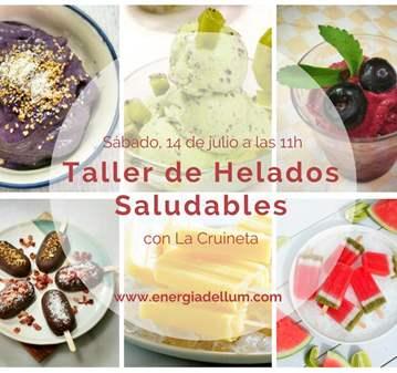 TALLER DE HELADOS SALUDABLES