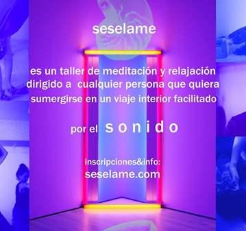 SESIÓN: TALLER DE RELAJACIÓN Y MEDITACIÓN CON  ...