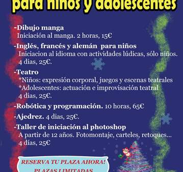 TALLER DE ROBÓTICA Y PROGRAMACIÓN PARA JÓVENES