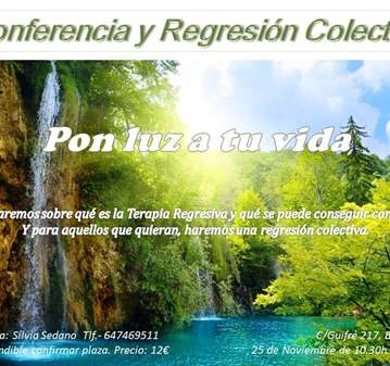 TALLER DE TERAPIA REGRESIVA