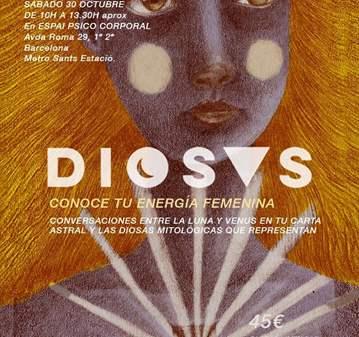 CLASE: TALLER DIOSAS INSPIRADO LAS DIOSAS DE CA...