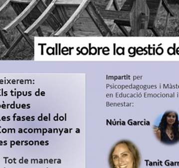 TALLER: GRATIS SUPERACIÓN DE DUELOS Y PERDIDAS