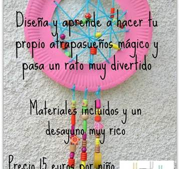 TALLER INFANTIL ATRAPASUEÑOS MÁGICO