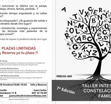 TALLER INTENSIVO DE CONSTELACIONES FAMILIARES