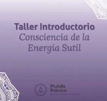 TALLER ENERGÍA SUTIL:LA MEDITACIÓN Y LA ENERGÍA