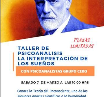 TALLER LA INTERPRETACIÓN DE LOS SUEÑOS