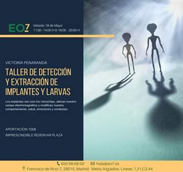 TALLER PRÁCTICO DE EXTRACCIÓN DE IMPLANTES