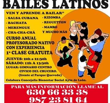 TALLERES DE BAILES LATINOS