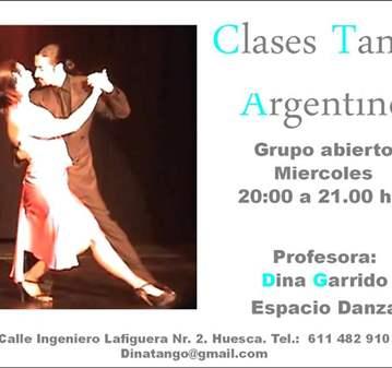 CLASE: TANGO ARGENTINO PARA PRINCIPIANTES