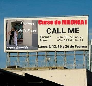 TANGO: CURSO DE MILONGA I