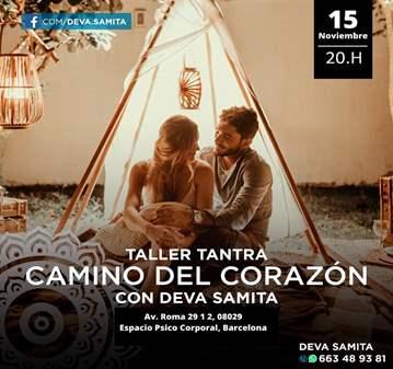 TALLER: TANTRA CAMINO AL CORAZÓN