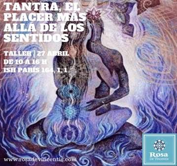 TALLER: TANTRA, EL PLACER MÁS ALLÁ DE LOS SENTIDOS