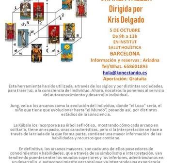 EVENTO: TAROT ALQUÍMICO CHARLA-TALLER GRATUITA